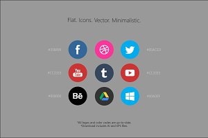 Flat. Icons. Vector. Minimalistic.