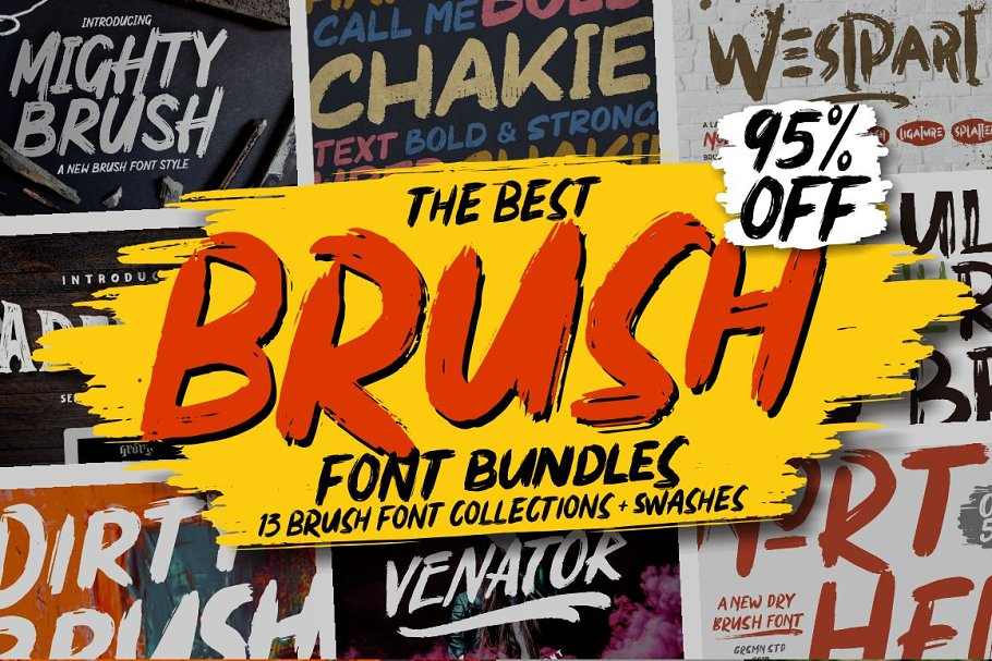 ⚡️BRUSH FONTS COLLECTIONS⚡️