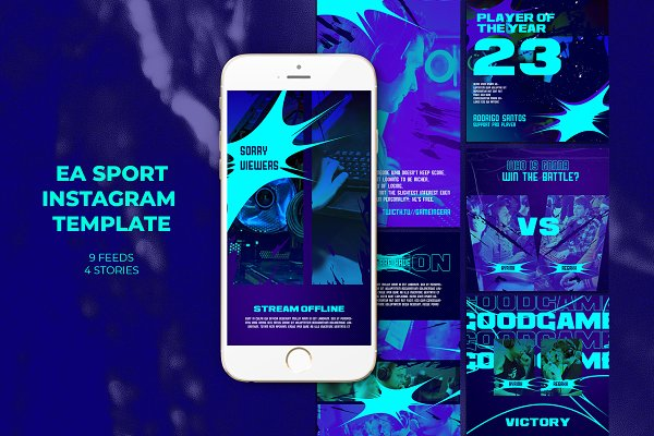 Ea Sport Instagram Templates