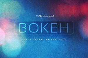 16 Bokeh Grunge Backgrounds V2