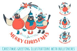 Merry Christmas Illustratios
