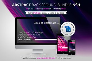 Abstract Background Bundle No.1
