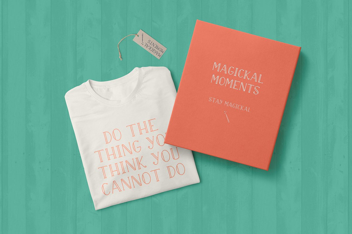 Magickal Moments in Serif Fonts - product preview 4