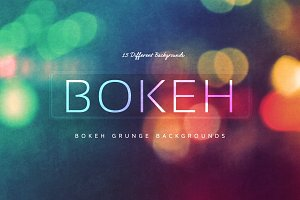 15 Bokeh Grunge Backgrounds V3