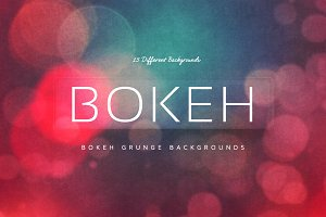 15 Bokeh Grunge Backgrounds V4
