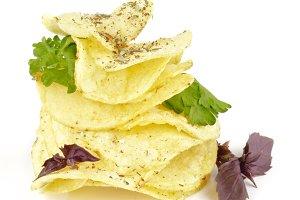 Potato Chips Pyramid