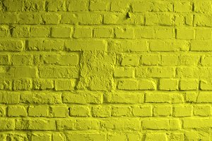 Yellow Brick Background