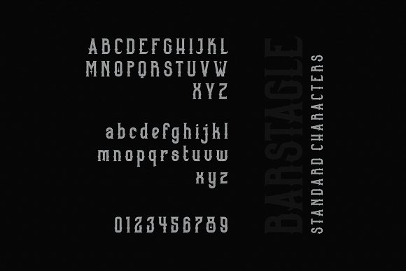 Barstagle in Serif Fonts - product preview 5