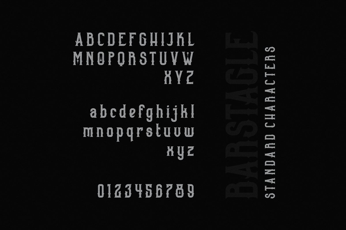Barstagle in Serif Fonts - product preview 6