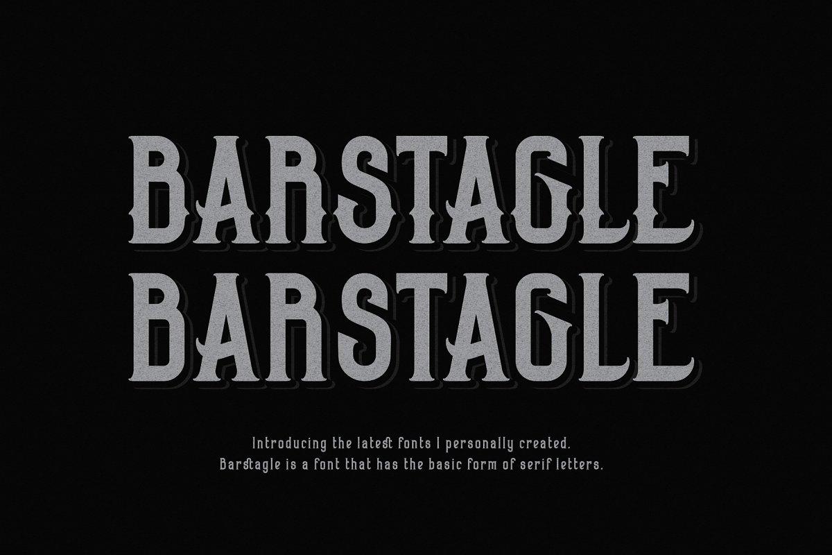 Barstagle in Serif Fonts