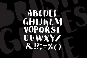 Brush Grotesque Font