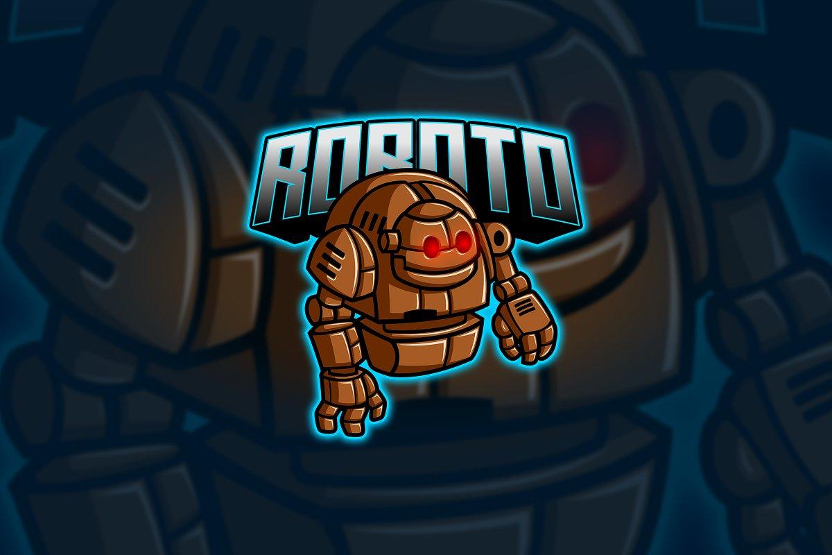 Robot - Mascot & Esport Logo