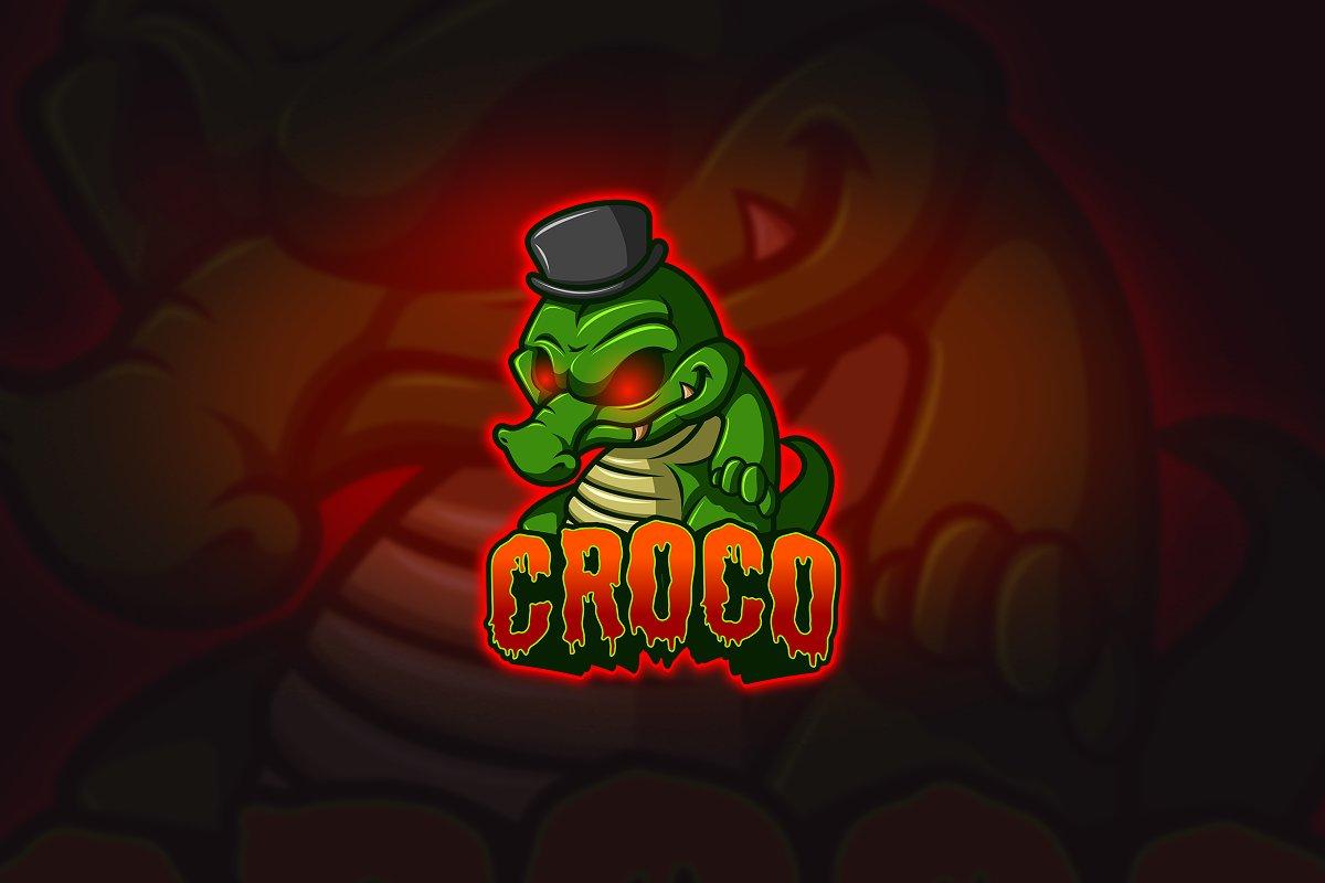 Croco - Mascot & Esport Logo