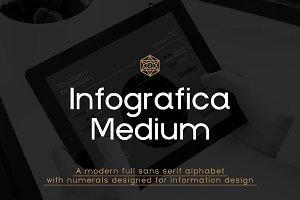 Infografica Medium Font