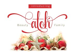 Beauty Atok Script Family (update)