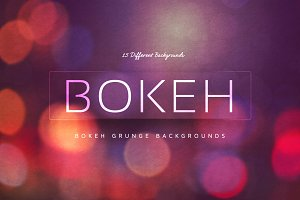 Bokeh Grunge Backgrounds V5