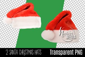Digital PNG Christmas Santa Hat 2