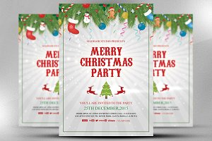 Merry Christmas Party Template
