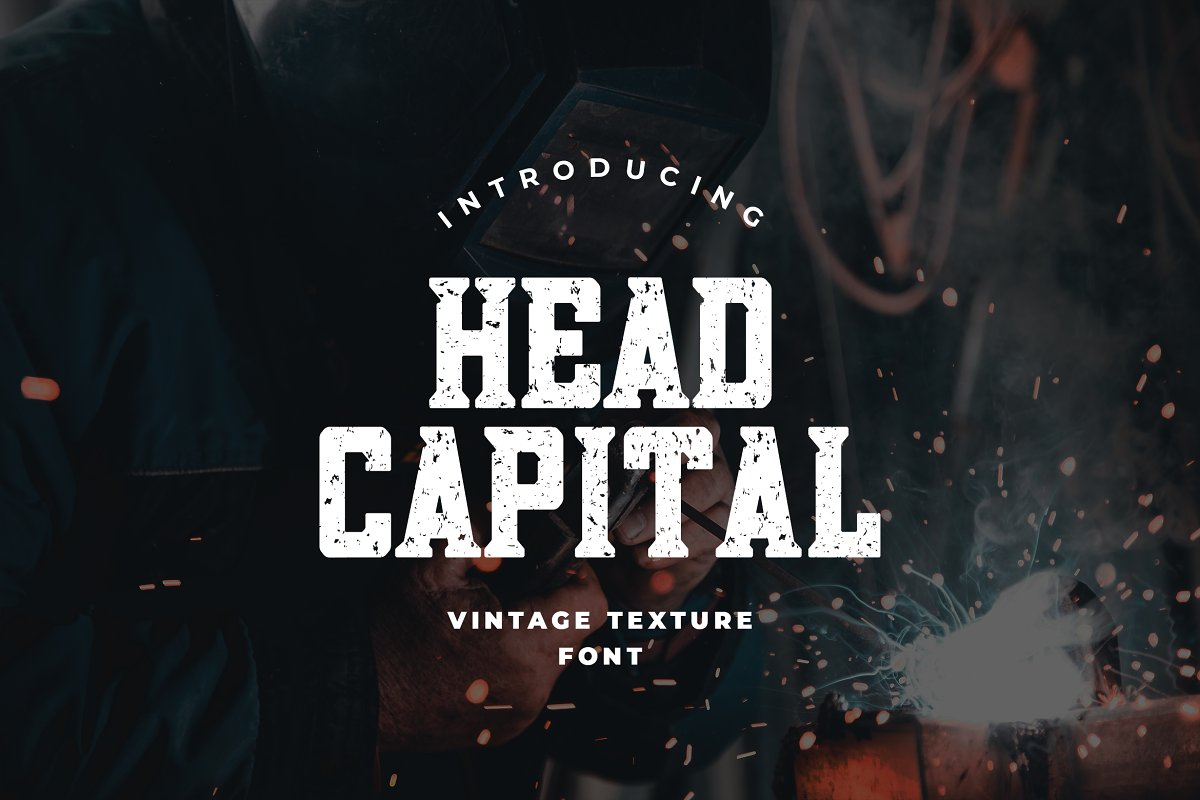 Head Capital Slab Serif