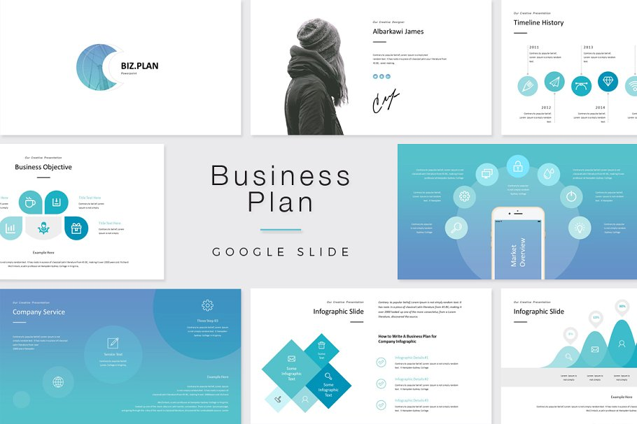 Google Slide Business Plan in Google Slides Templates - product preview 8