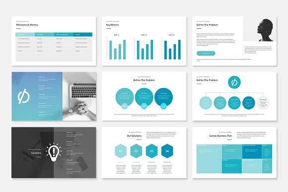 Google Slide Business Plan in Google Slides Templates - product preview 14