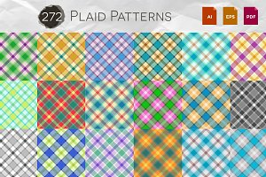 272 Fantasy Plaid Patterns