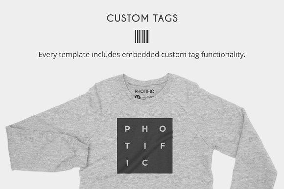 Crew neck sweater apparel mockups product mockups creative market maxwellsz