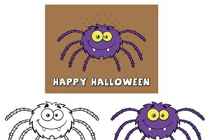 Funny Spider. Collection Set