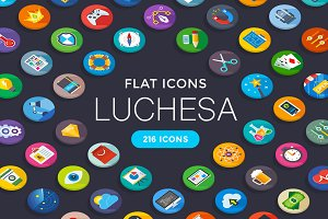 Luchesa. 216 Flat Icons