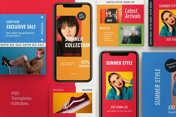PROTASIO - Brand Social Media Bundle