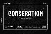 Conseration Family - 5 styles