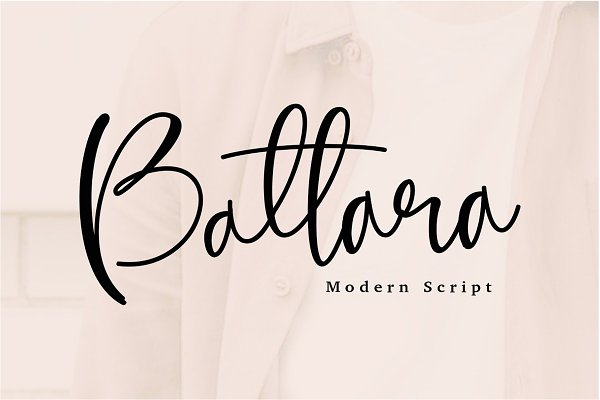 Battara Modrn Calligraphy