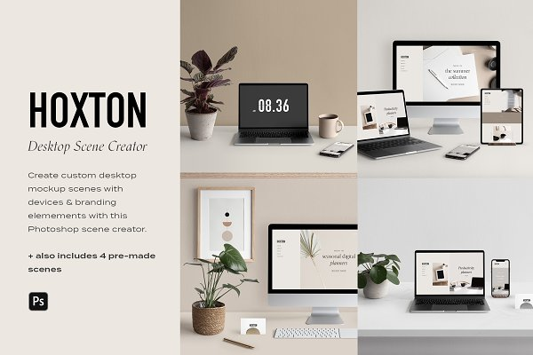 Desktop & Multi Device Scene Creator