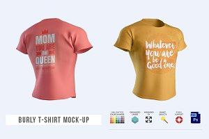 Burly T-Shirt Mock-up