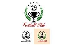 Football Club Championship emblem or