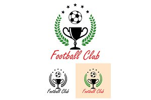 Football Club Championship emblem or