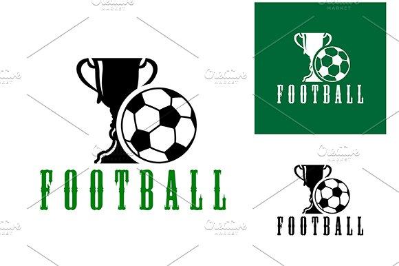 Championship football icon