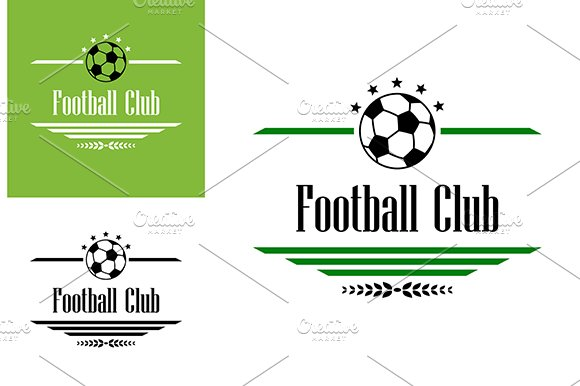 Football or soccer club symbol