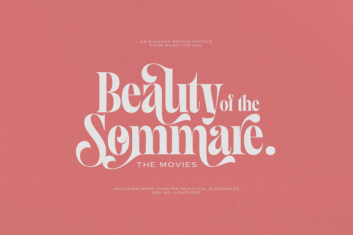 Magface in Serif Fonts - product preview 2