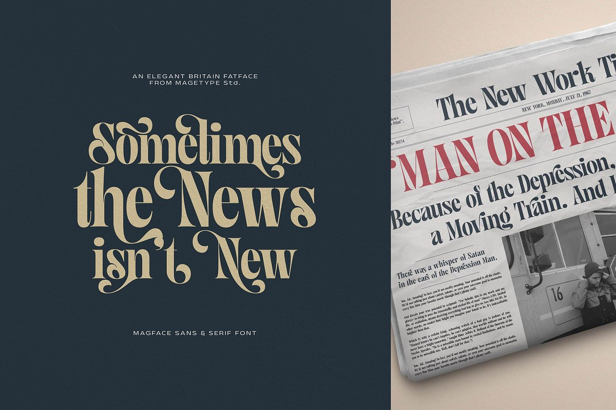 Magface in Serif Fonts - product preview 7
