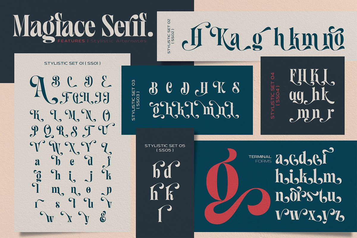 Magface in Serif Fonts - product preview 12