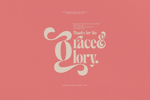 Magface in Serif Fonts - product preview 19