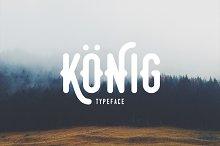 Konig Typeface