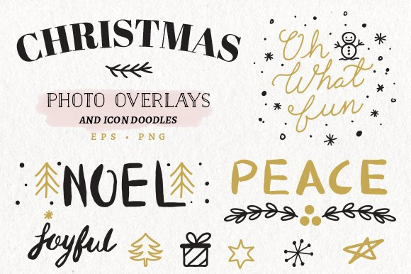 christmas overlays icons - Christmas Overlays