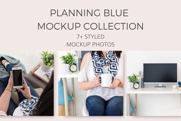 Planning Blue MockUps (7+ Images)