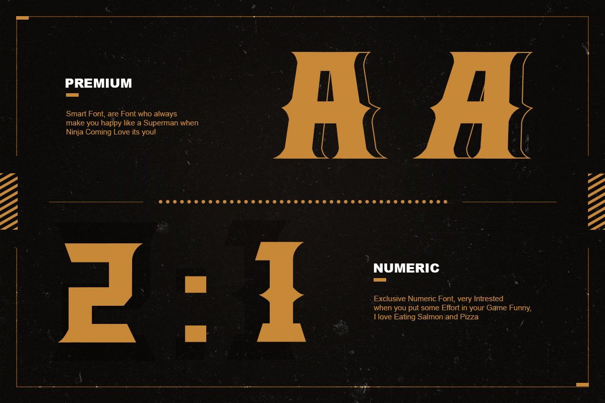 The Legend Modern Font in Serif Fonts - product preview 3