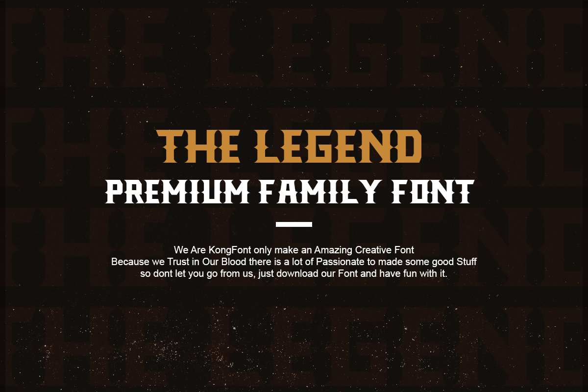 The Legend Modern Font in Serif Fonts - product preview 5