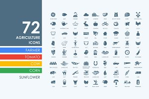 72 agriculture icons