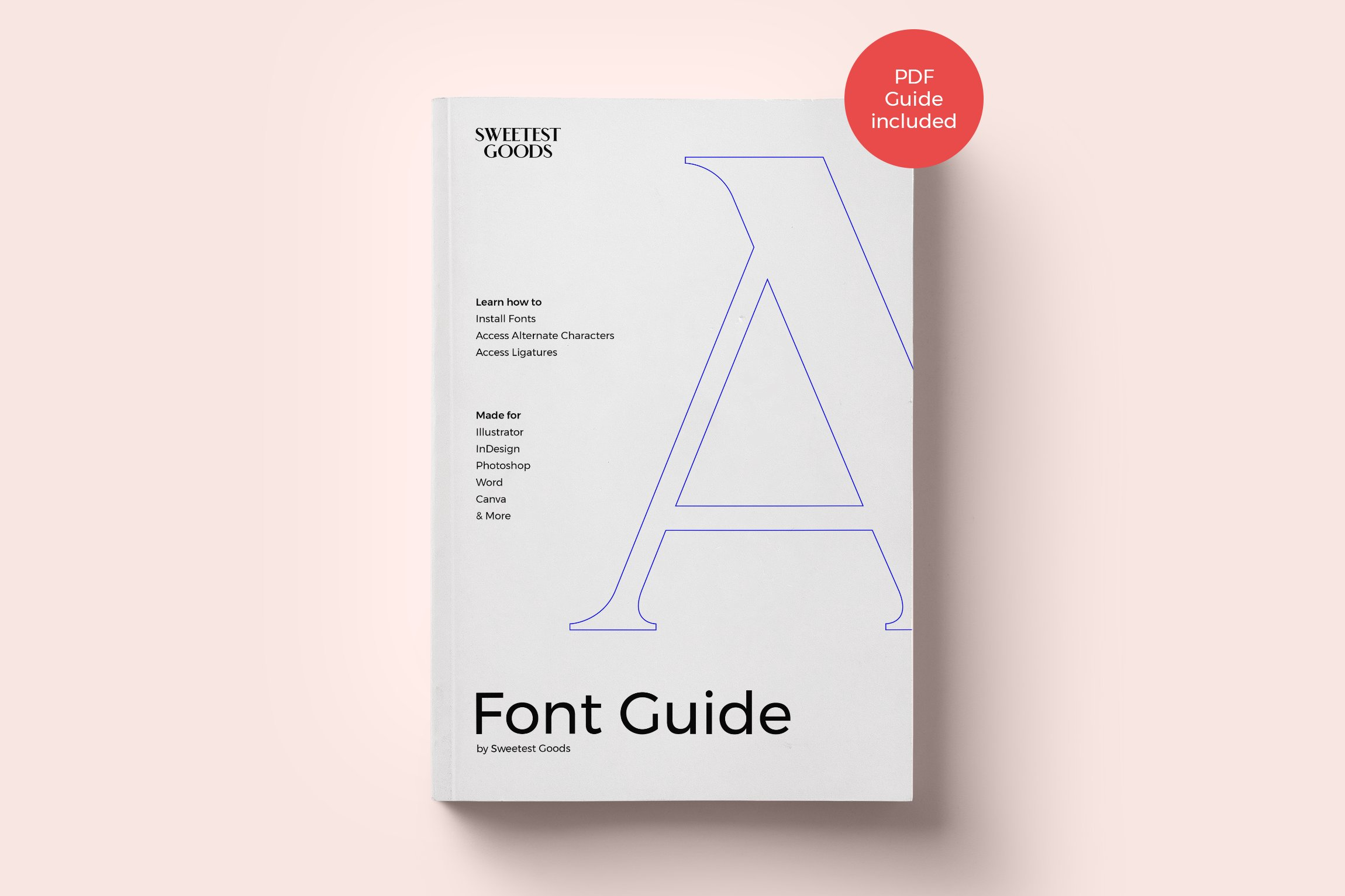 askja typeface sweetest goods font guide 11