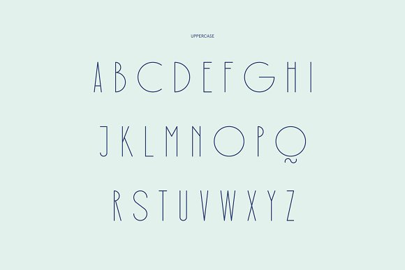 Rothko Modern Art Deco Display Font in Display Fonts - product preview 5